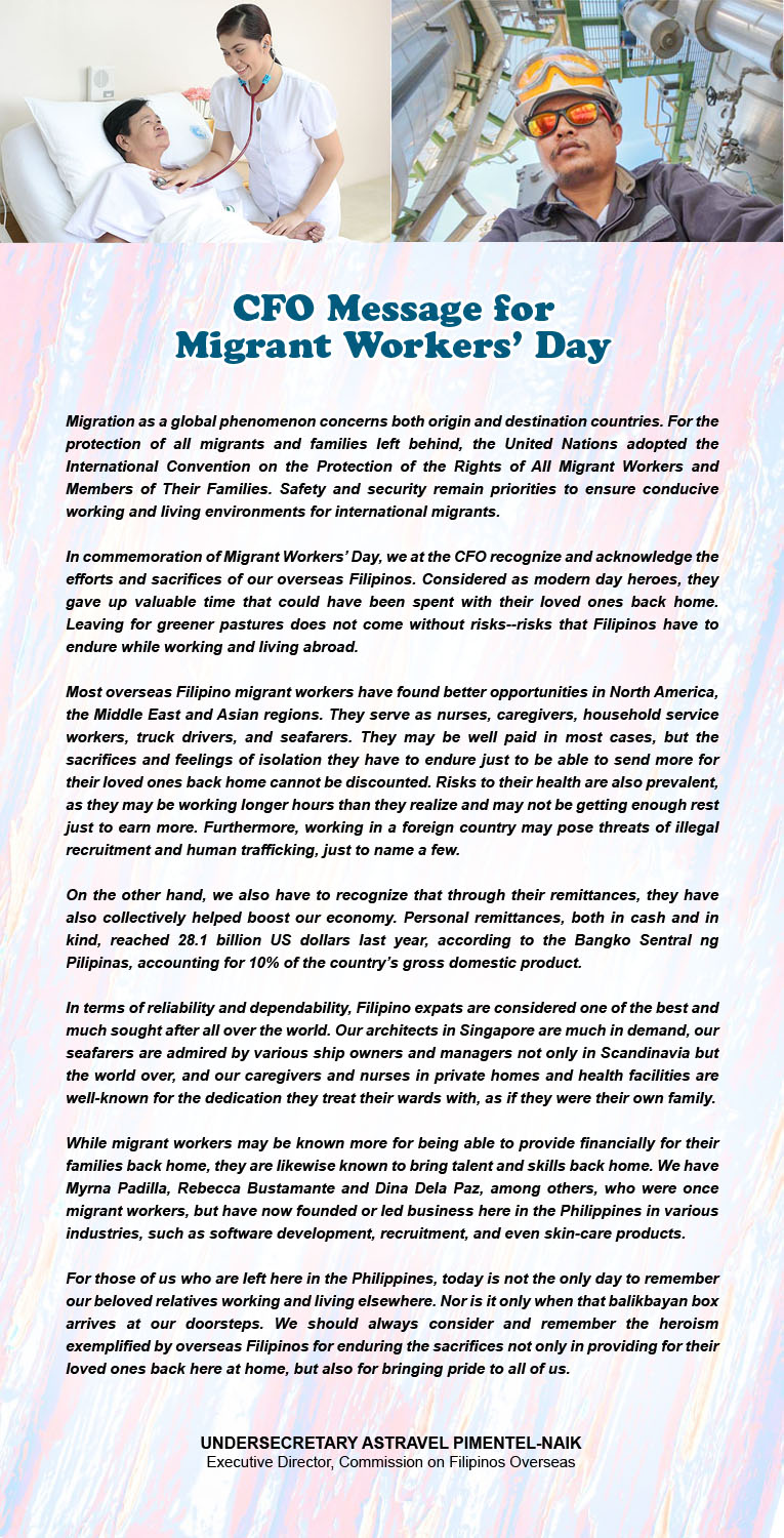 message migrant workers day2018