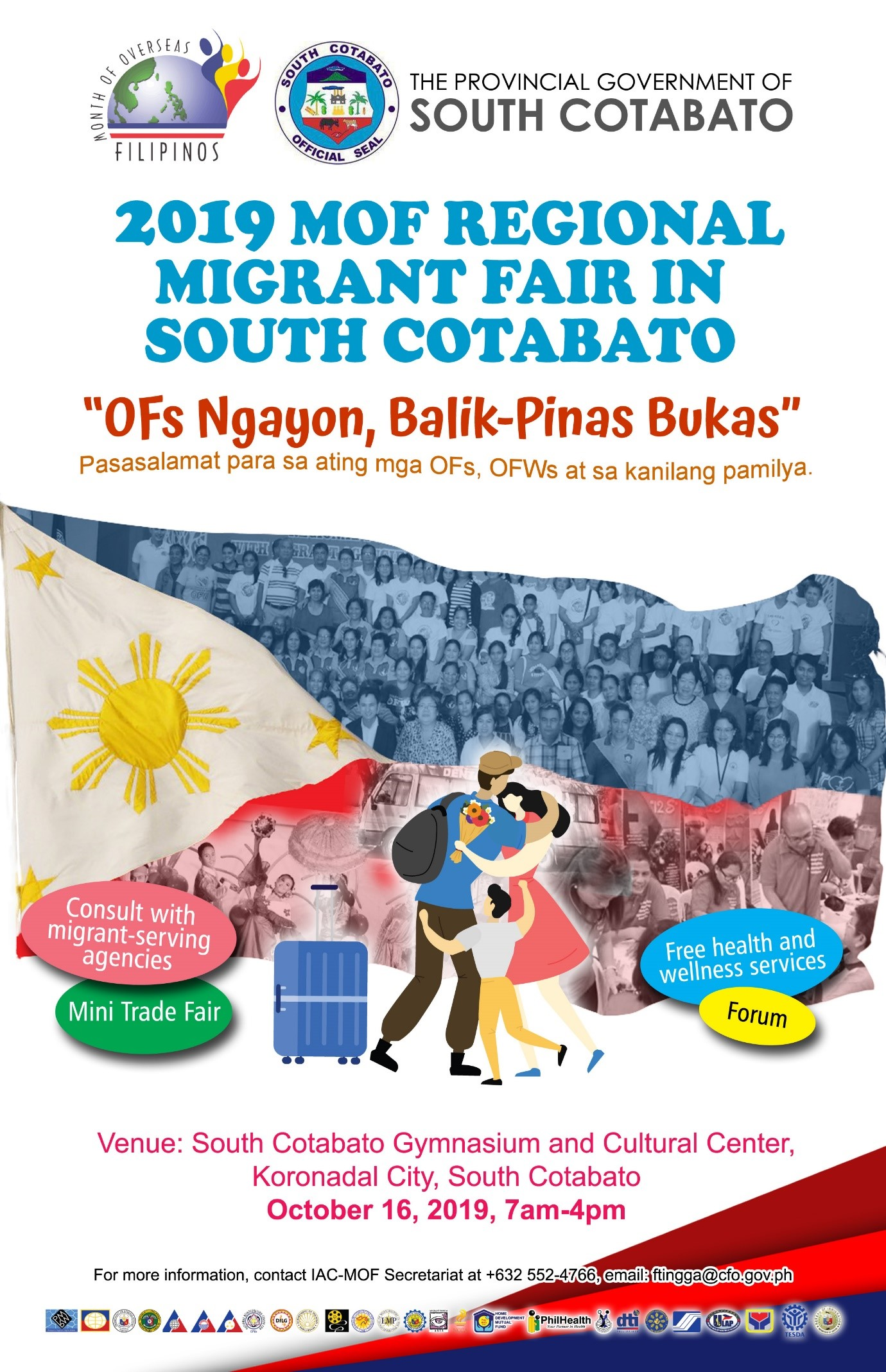 2019 MOF Regional Migrant Fair set in the Land of Dreamweavers