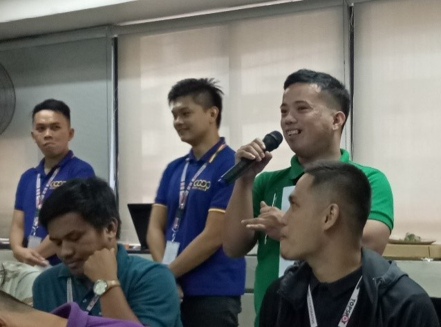 PESO SENSE CONDUCTS FIRST FINANCIAL LITERACY TRAINING FOR 2019b2