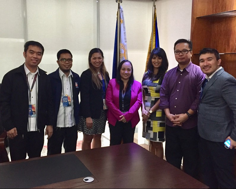 Filipino American Young Leaders Visit CFO